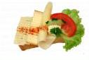 háromsajtos szendvics